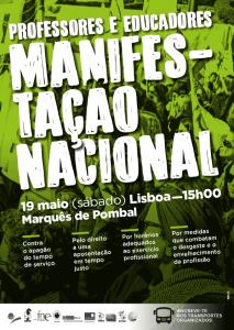 Cartaz Manifestação Nacional